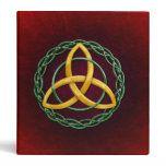 Celtic Trinity Knot 3 Ring Binder