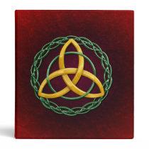Celtic Trinity Knot 3 Ring Binder