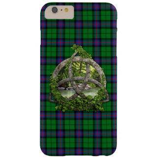 Celtic Trinity Knot And Clan Armstrong Tartan Barely There iPhone 6 Plus Case