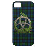 Celtic Trinity Knot And Clan Campbell Tartan iPhone 5 Covers
