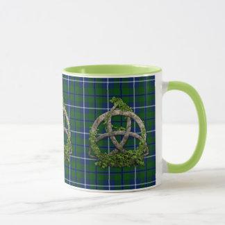 Celtic Trinity Knot And Clan Douglas Tartan Mug