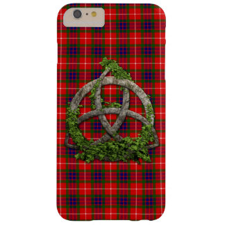 Celtic Trinity Knot And Clan Fraser Tartan Barely There iPhone 6 Plus Case