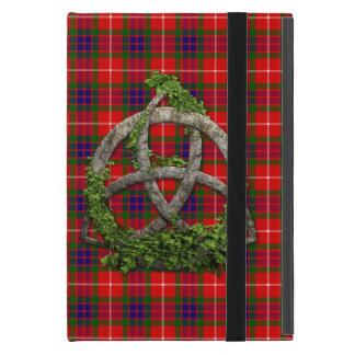 Celtic Trinity Knot And Clan Fraser Tartan Case For iPad Mini