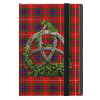 Celtic Trinity Knot And Clan Fraser Tartan Case For iPad Mini
