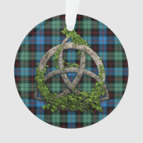 Celtic Trinity Knot And Clan Guthrie Tartan