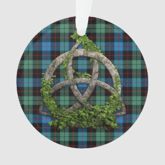 Celtic Trinity Knot And Clan Guthrie Tartan Ornament
