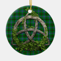 Celtic Trinity Knot And Clan Henderson Tartan