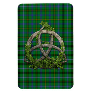 Celtic Trinity Knot And Clan Henderson Tartan Magnet
