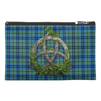 Celtic Trinity Knot And Clan Keith Tartan Travel Accessory Bag