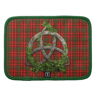 Celtic Trinity Knot And Clan MacDougall Tartan Planners