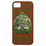 Celtic Trinity Knot And Clan MacGregor Tartan iPhone 5 Covers