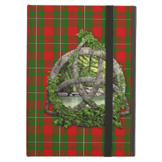 Celtic Trinity Knot And Clan MacGregor Tartan Case For iPad Air