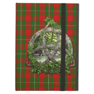 Celtic Trinity Knot And Clan MacGregor Tartan iPad Air Cover