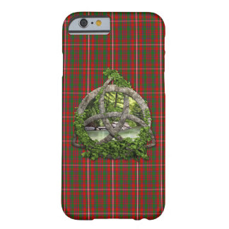 Celtic Trinity Knot And Clan MacKinnon Tartan Barely There iPhone 6 Case