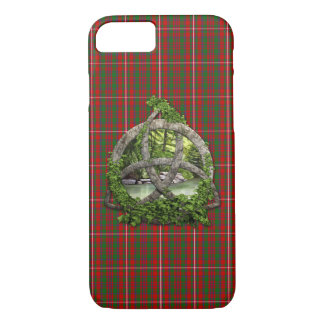 Celtic Trinity Knot And Clan MacKinnon Tartan iPhone 8/7 Case