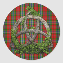 Celtic Trinity Knot And Clan MacLean Of Duart