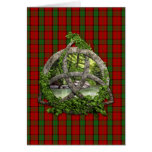 Celtic Trinity Knot And Clan Maxwell Tartan Greeting Cards
