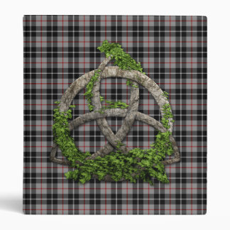Celtic Trinity Knot And Clan Thompson Tartan Binder