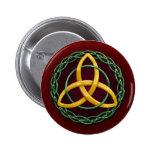 Celtic Trinity Knot Button
