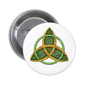 Celtic Trinity Knot Buttons