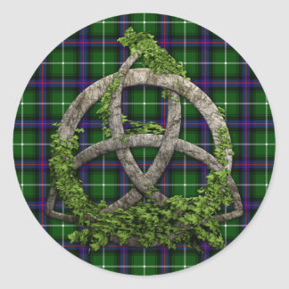 Celtic Trinity Knot Clan MacDonald Of The Isles Classic Round Sticker