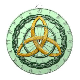 Celtic Trinity Knot Dartboard