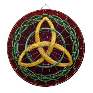Celtic Trinity Knot Dartboards