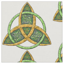 Celtic Trinity Knot Fabric