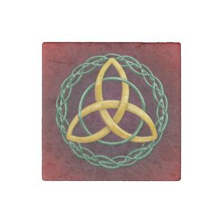 Celtic Trinity Knot Stone Magnet