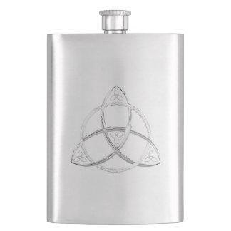 Celtic Trinity Knot Hip Flasks
