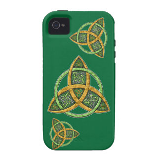 Celtic Trinity Knot iPhone 4 Case-Mate Tough