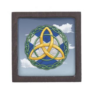 Celtic Trinity Knot Jewelry Box