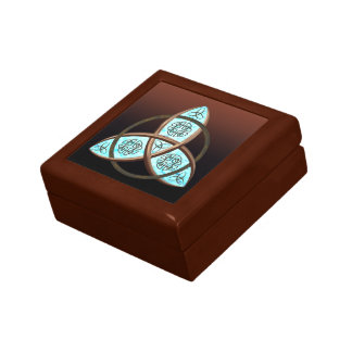 Celtic Trinity Knot Keepsake Box