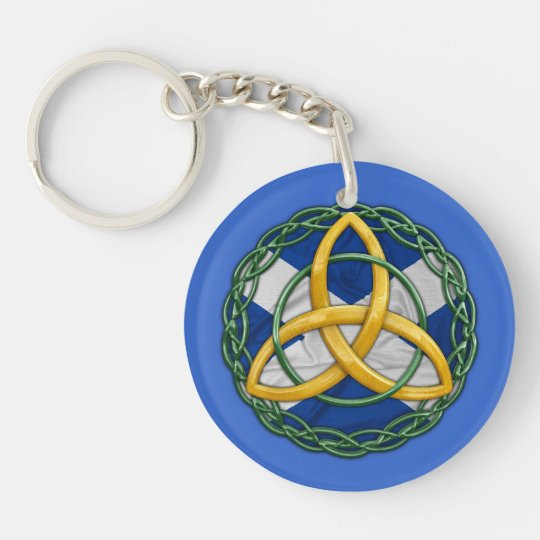Celtic Trinity Knot Keychain