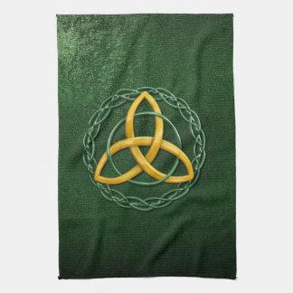 Celtic Trinity Knot Kitchen Towel