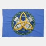 Celtic Trinity Knot Kitchen Towels