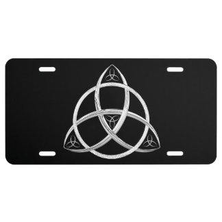 Celtic Trinity Knot License Plate