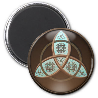 Celtic Trinity Knot 2 Inch Round Magnet