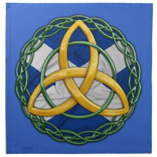 Celtic Trinity Knot Napkins