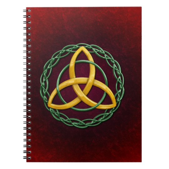 Celtic Trinity Knot Notebook