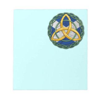 Celtic Trinity Knot Notepad