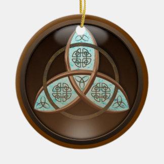 Celtic Trinity Knot Christmas Ornaments