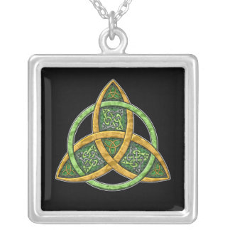 Celtic Trinity Knot Pendant Necklace