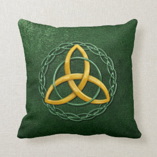 Celtic Trinity Knot Pillow