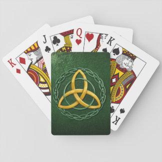 Celtic Trinity Knot Poker Cards