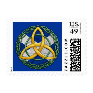 Celtic Trinity Knot Postage