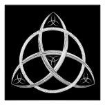 Celtic Trinity Knot Poster