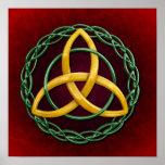 Celtic Trinity Knot Print