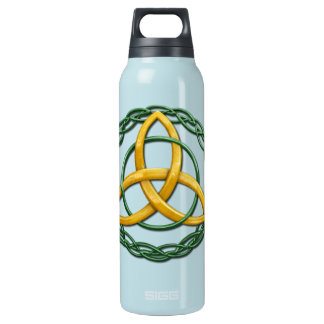 Celtic Trinity Knot 16 Oz Insulated SIGG Thermos Water Bottle
