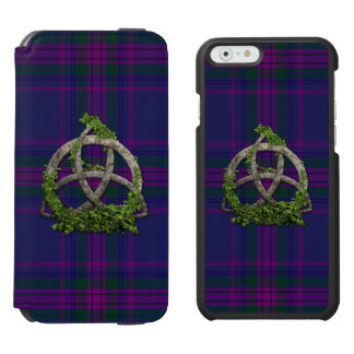 Celtic Trinity Knot Spirit Of Scotland iPhone 6/6s Wallet Case